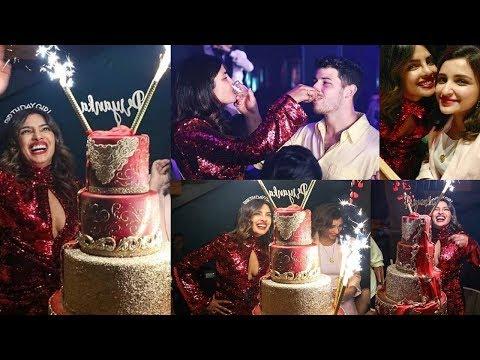 Priyanka Chopra 37th Birthday Party 2019 With Parineeti Chopra And Nick Jonas