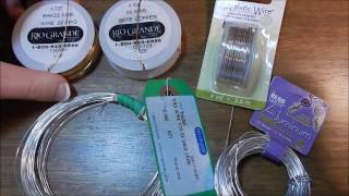 Beginning Wire Wrapping : Budget Wires and Types