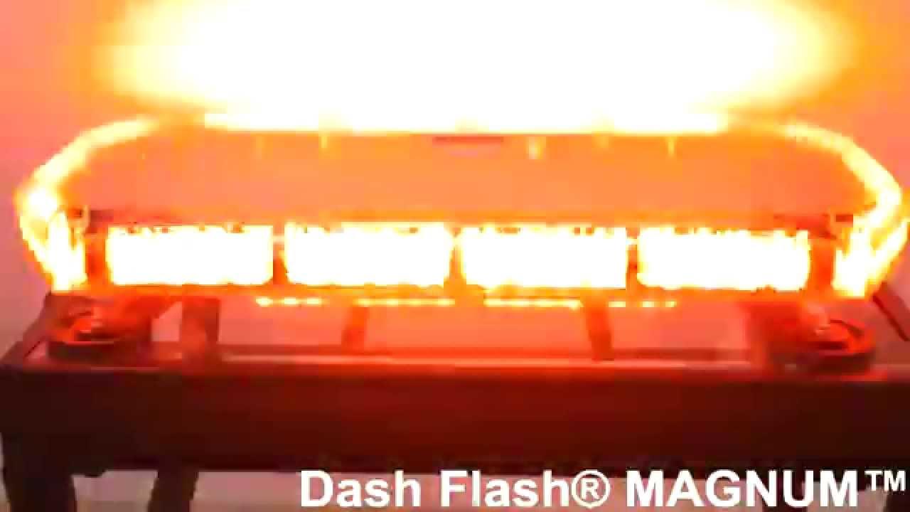 Dash flash magnum magnetic mount led lightbar for firefighter dash flash magnum magnetic mount led lightbar for firefighter snow plow plows police emt aloadofball Images