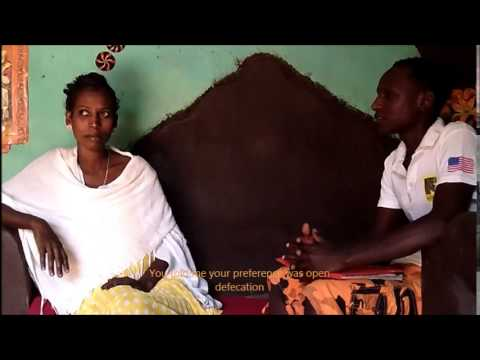 IRC Ethiopia: Proper Latrine Use Testimonial at Shimelba Refugee Camp (Tigrinya Language)