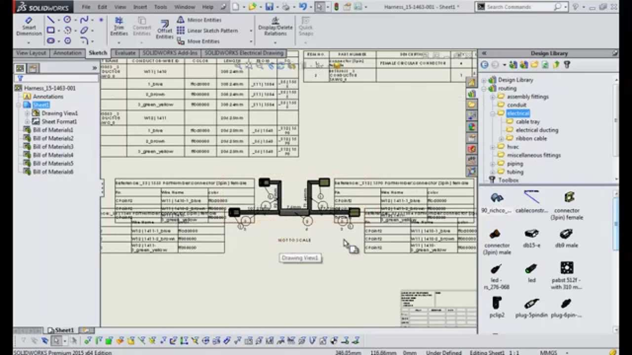 9 Solidworks Electrical 2d Harness