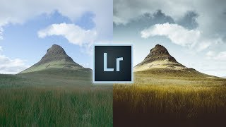How to Edit Landscapes Like @hollow.sun Lightroom Tutorial For Instagram Landscape Moody Edit