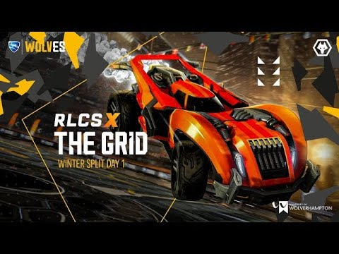 Wolves Esports | Rocket League | The Grid #1 Day 2