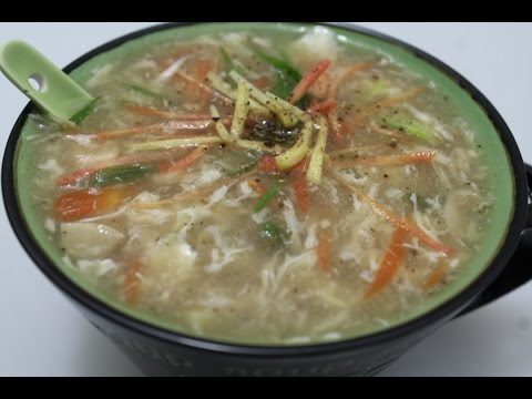 Chicken Ginger Soup || WINTER SPECIAL SOUP SERIES || how to make chicken ginger soupow to