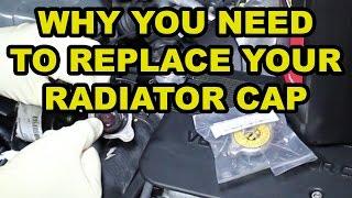 Toyota Radiator Cap Replacement