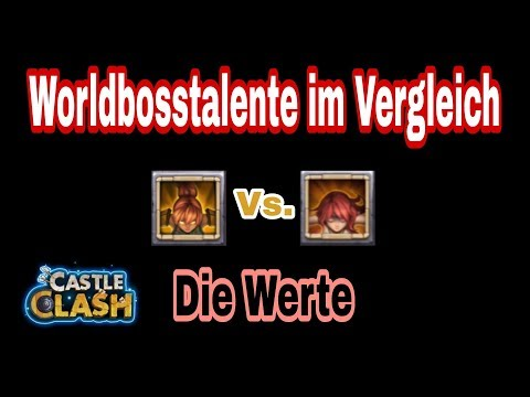 Castle Clash - Feuermagier Vs. Himmlischer Templer - Worldbosstalent - [ja©kass]