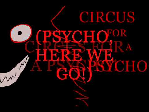 Skillet- Circus for a Psycho (Lyrics)