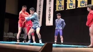 サンボ 2011年3月5日『遠藤ひできを応援する会』演武 SAMBO Самбо