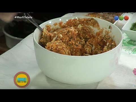 Recetas - Chantal - Croquetas de Calabaza - Ensalada de Verdes - Morfi