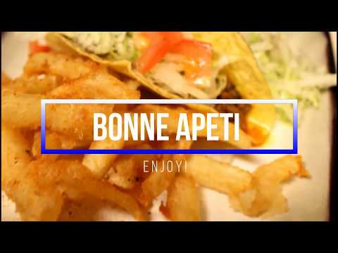 Cooking with Axelle Ep. 1 (Tacos & Fries)