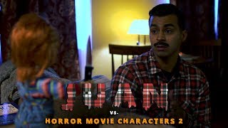 Juan vs Horror Movie Characters 2 | David Lopez