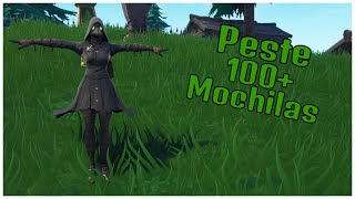 SHOWING THE PLAGUE SKIN & 100 + BACKPACKS | FORTNITE