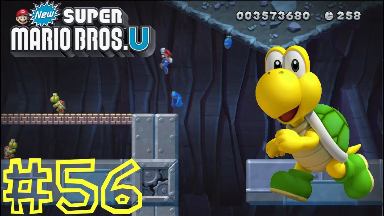 New Super Mario Bros U Rock Candy Mines New Super Mario Bros. ...