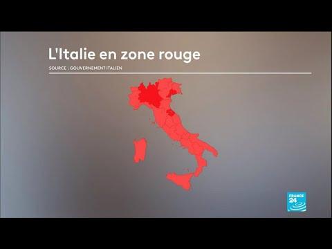 Coronavirus en Italie: tout le pays confiné, les Italiens priés de rester chez eux