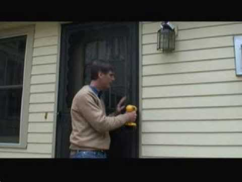 How To Remove An Old Storm Door Youtube