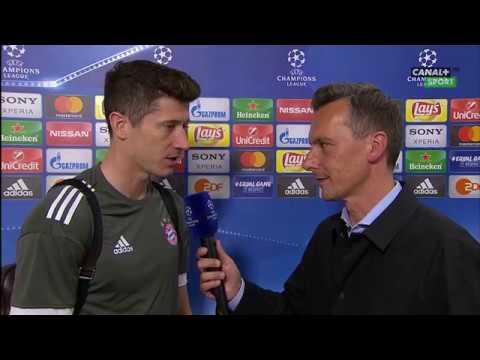 Robert Lewandowski po meczu Bayern - Real || Wywiad || Liga Mistrzów UEFA