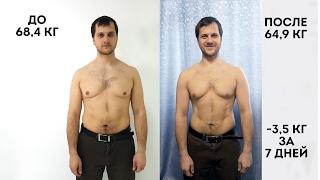 Детокс-марафон / -3,5 кг за 7 дней