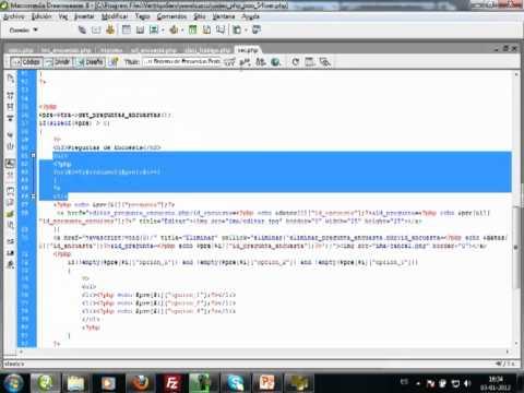 VideoTutorial 54 del Curso de PHP POO