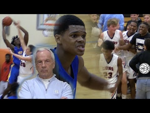 CROWD STORMS COURT  in EPIC Ronaldo Segu PG BATTLE! Nassir Little Goes OFF IN FRONT of UNC Coach!