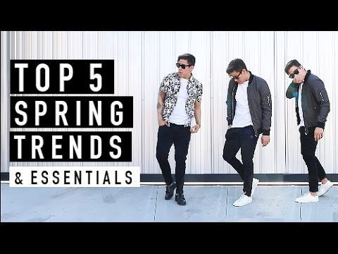 TOP 5 MEN'S SPRING FASHION TRENDS & ESSENTIALS OF 2016 | JAIRWOO