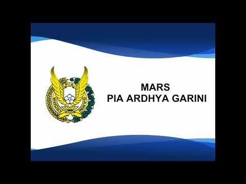 Mars PIA Ardhya Garini - Lirik Saja