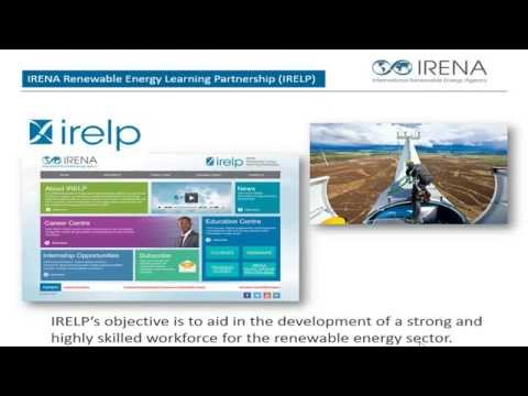 Education and Skills Needs in the Renewable Energy Sector (Training Webinar)