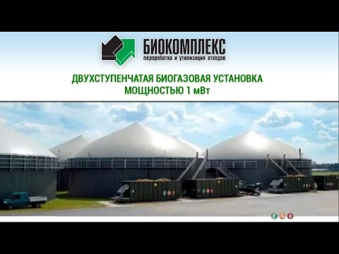 Пример работы Биогазовой