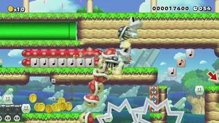 A Short, Simple Speedrun!(60Sec) by ★Dude64★♂ - Super Mario Maker - No Commentary