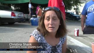 In Kentucky Some Fear, Some Cheer Proposed Food Stamp Cuts