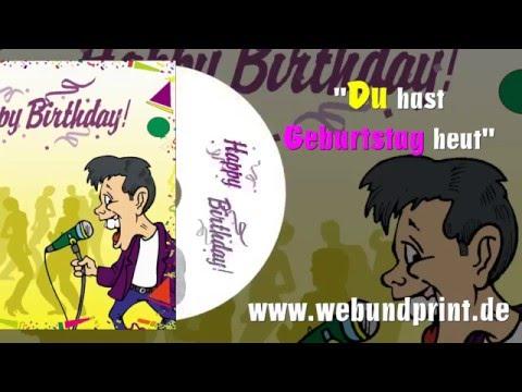 Persönliches Geburtstagslied mit Namen produziert - Personalisierter Song Geburtstagskind