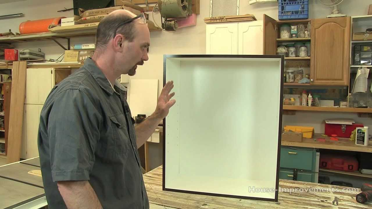 DIY Cabinet Building: Upper Cabinet Assembly   YouTube