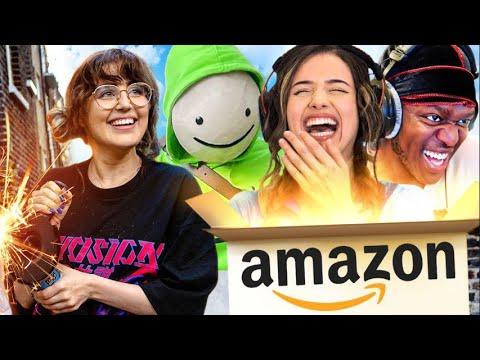 My FAMOUS followers do my Amazon shop (KSI, DREAM, POKIMANE and more)