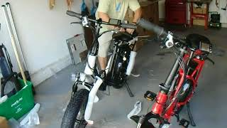 Veego Folding Fat Tire Electric Bicycle From Ride Scoozy Review