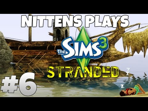 The Sims 3 Gameplay Walkthrough: Stranded Part 6 - Escaping The Island