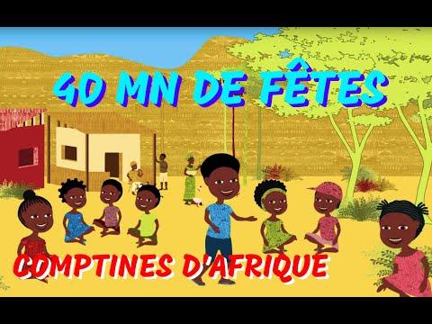 40min de Comptines africaines et Chansons à geste pour les petits
