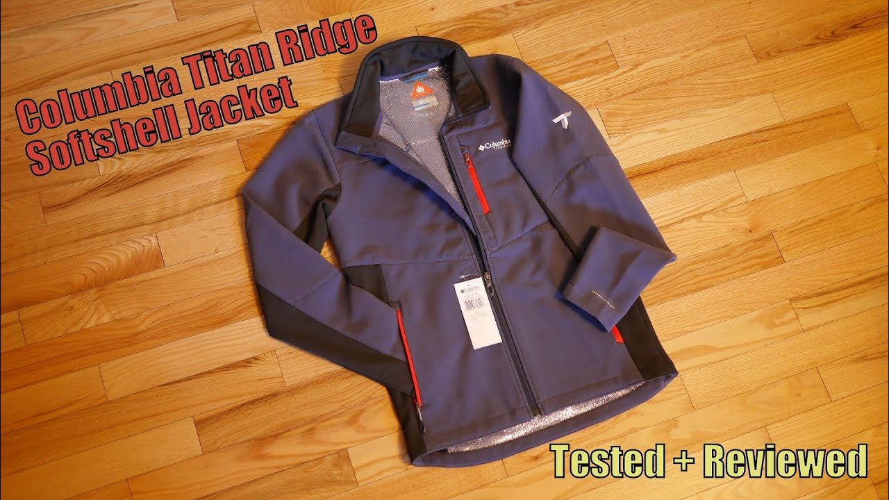 Columbia Titan Ridge Softshell Jacket Tested + Reviewed