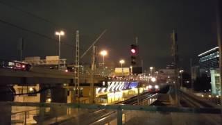 деловой центр ночью - МЦК vs ТТК