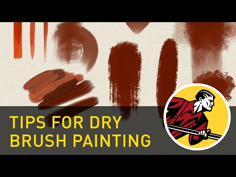 Clip Studio Paint: Tips For Dry Brush Painting
