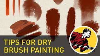 Tips For Dry Brush Painting - Clip Studio Paint