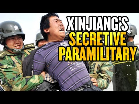 US Sanctions Secretive Communist Party Paramilitary in Xinjiang