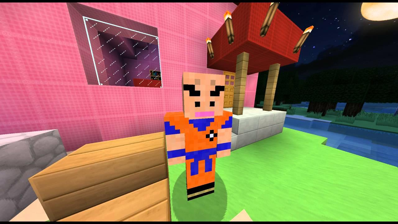 Top 5 Minecraft Skins Dragonball Z Hd Downloadlinks Youtube