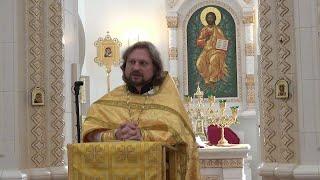 Святого Евангелия чтение. Проповедь отца Михаила. 2 августа 2020 г.