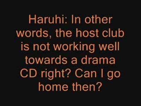 Ouran High School Host Club Drama CD 1
