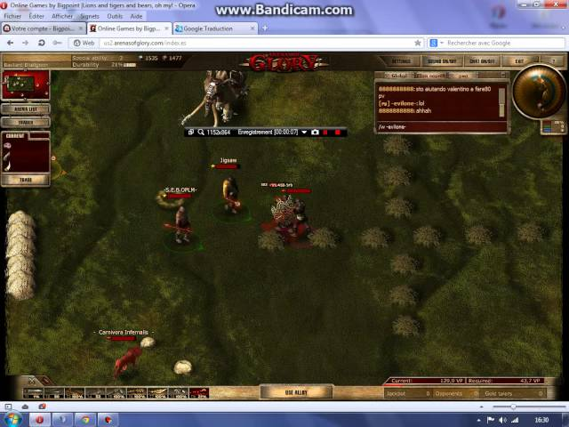 Champion server west play beugue