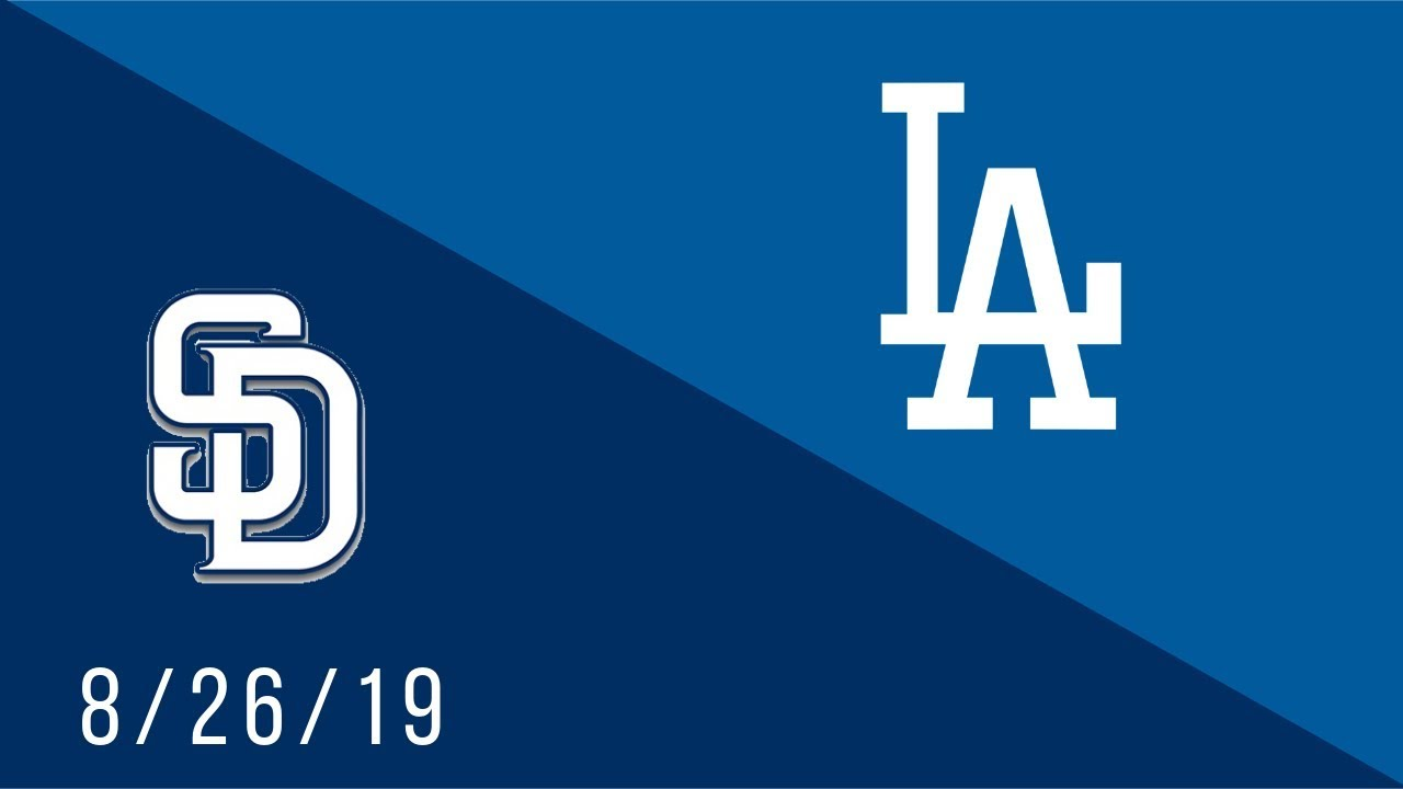 Los Angeles Dodgers vs San Diego Padres - Full Highlights Game - 8/26/19
