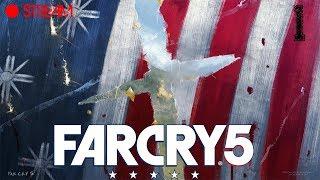 """🔴Прохождение Far Cry 5 ● """"Скажи ДА и всё будет заибца""""©Иоанн Сид!!! [часть 1] ● PC 1080p 60fps"""
