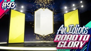 I PACKED AN ICON IN FUT CHAMPS REWARDS!!! AN IDIOTS FIFA 19 ROAD TO GLORY!!! Episode 93