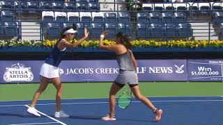 Chan/Yang d. Rosolska/Spears - Dubai Tennis 2018 - SFs Double WTA Highlights