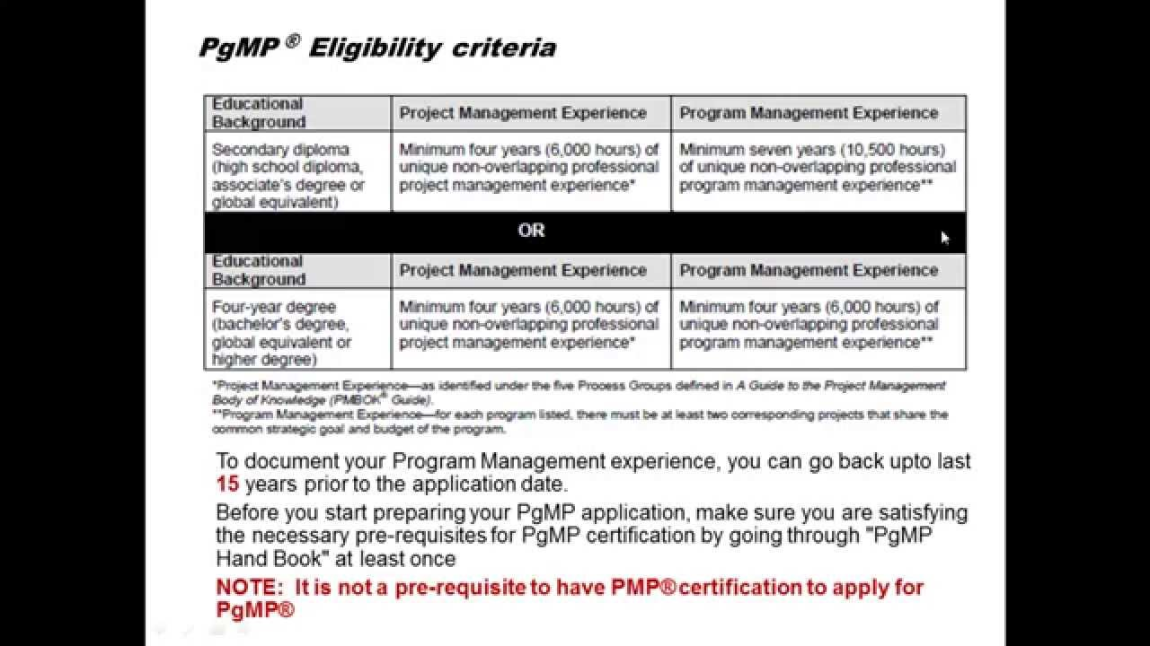 Introduction to program management professional pgmp introduction to program management professional pgmp certification by anup kumar pmp pgmp youtube 1betcityfo Gallery