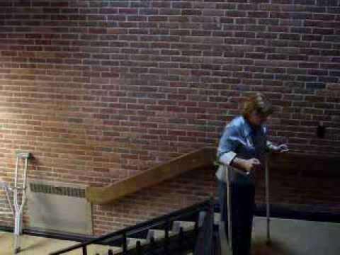 Gait/ambulation on stairs